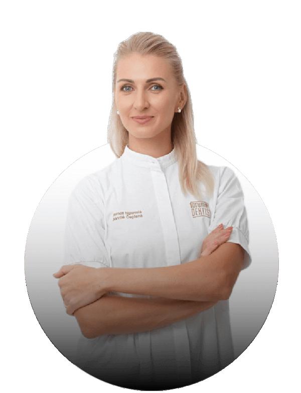 Akvilė Čepienė - Burnos higienistė