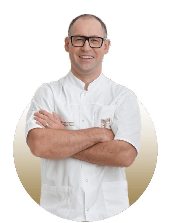 Šarūnas Čepas - Gydytojas odontologas